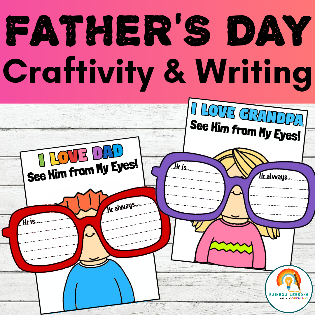 Father's Day Craft Printable