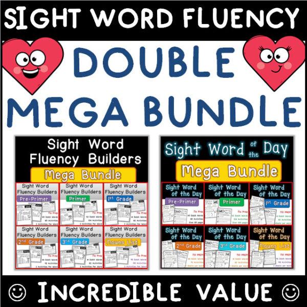 Sight Word Worksheets Printable Giant Bundle
