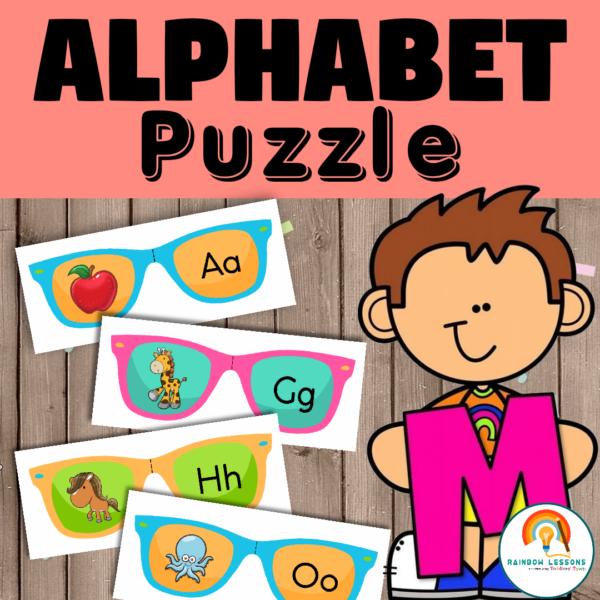 Alphabet Puzzle Printable Activity