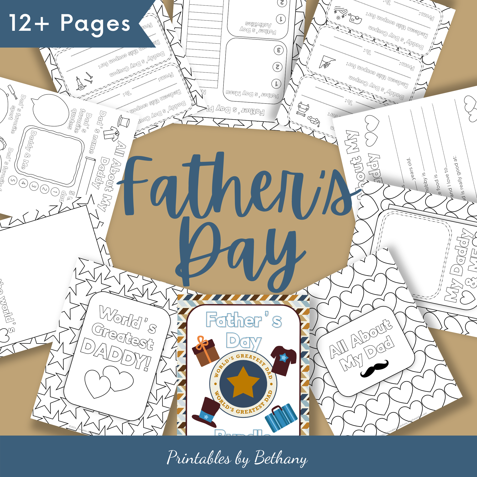 Printable Father's Day Worksheets