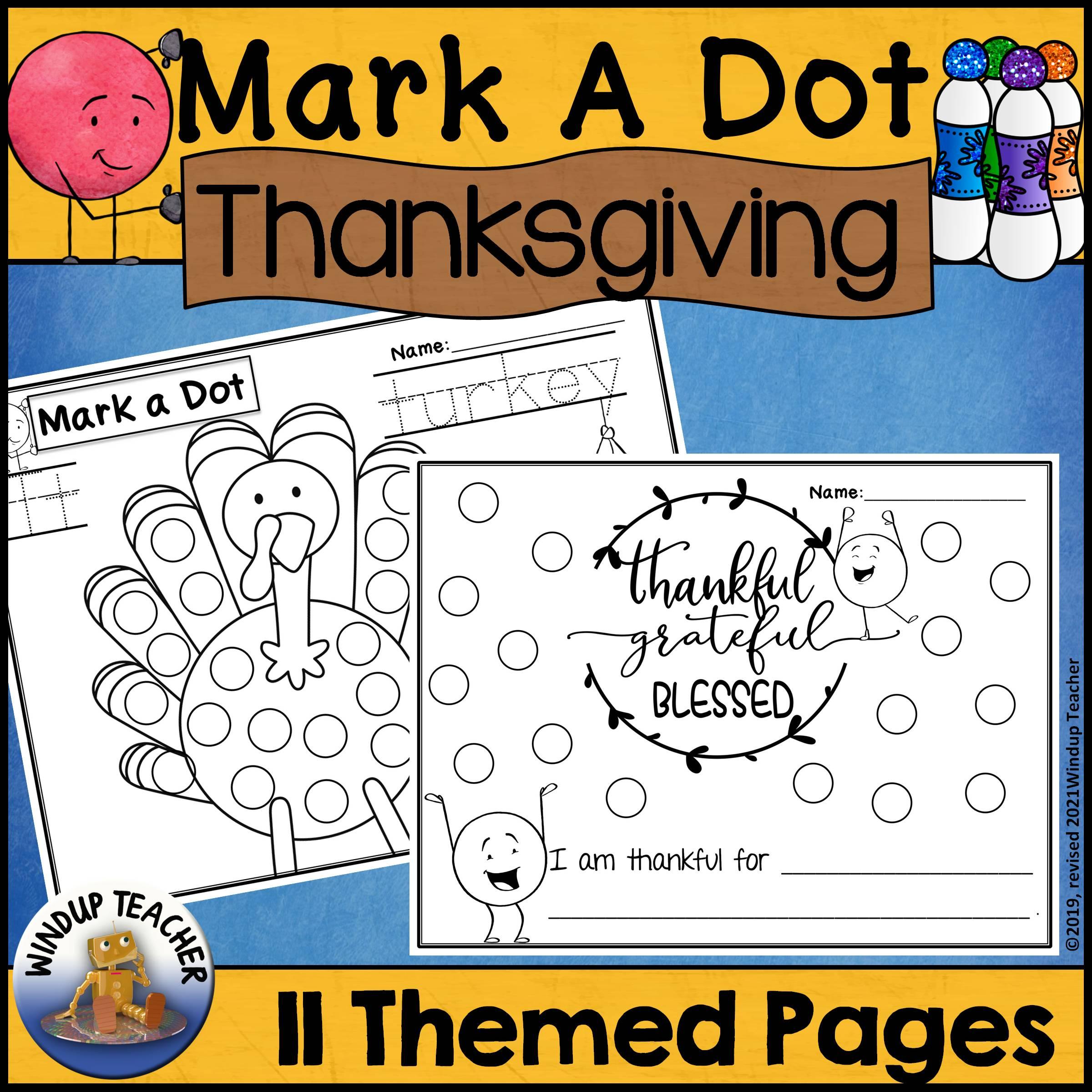 Thanksgiving Dot Dauber Set
