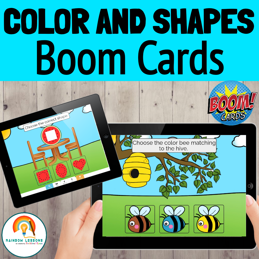 Boom Cards Colors and Shapes