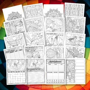 Printable Journal Coloring Pages