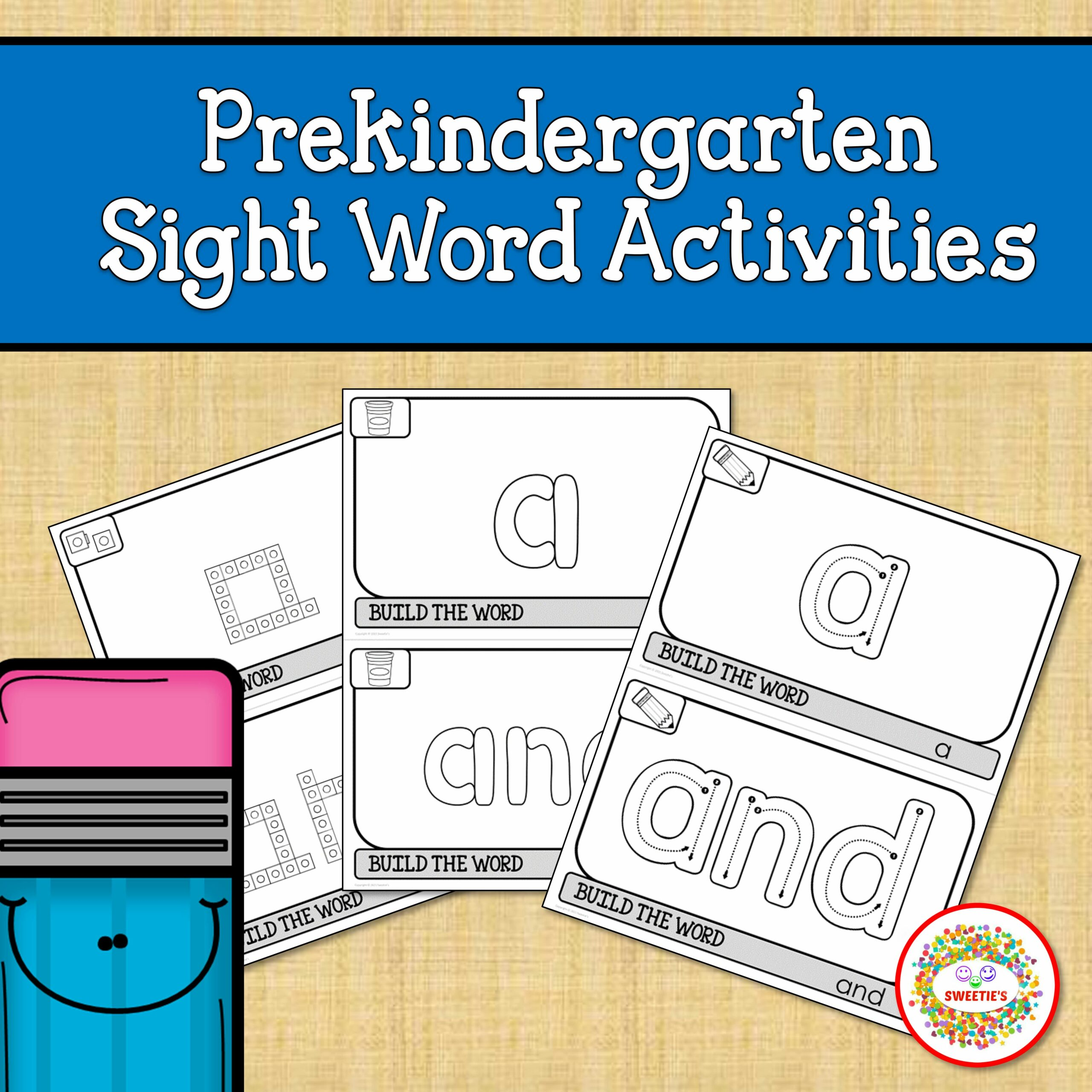 PreK Sight Word Activities