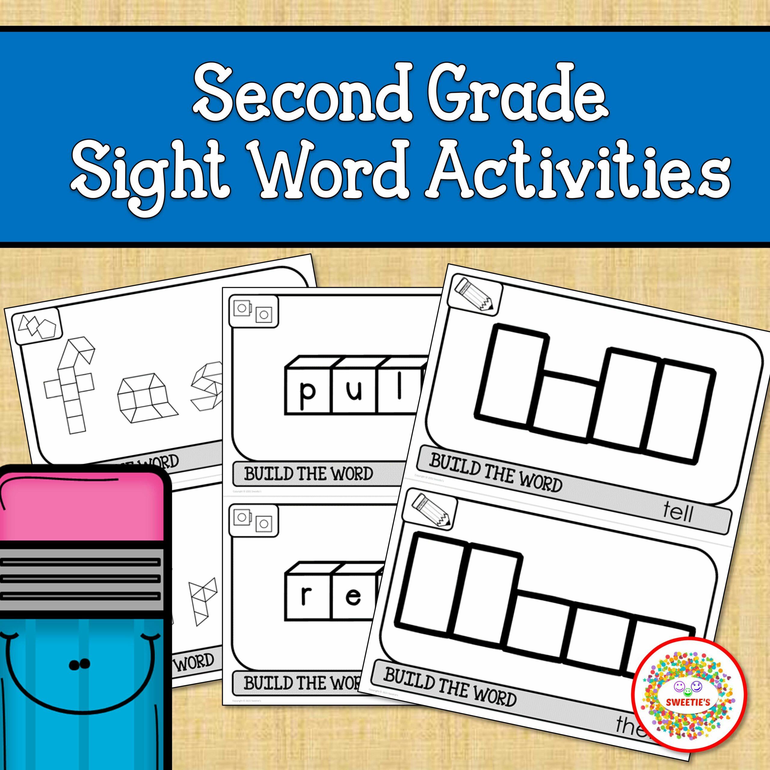Second Grade Sight Words