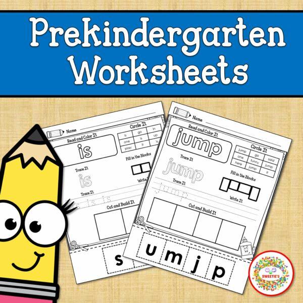 Prekindergarten Worksheets