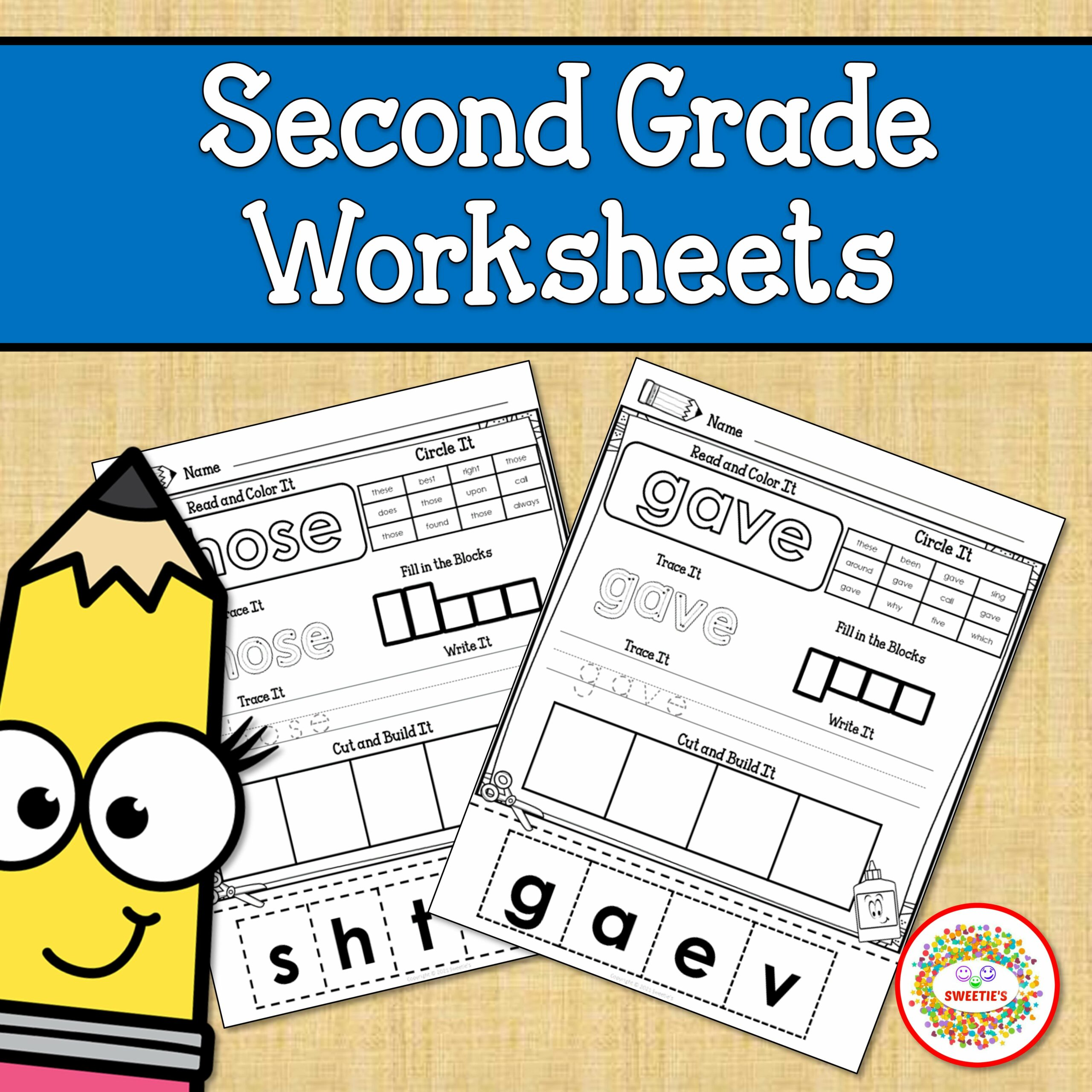 Second Grade Sight Word Worksheets