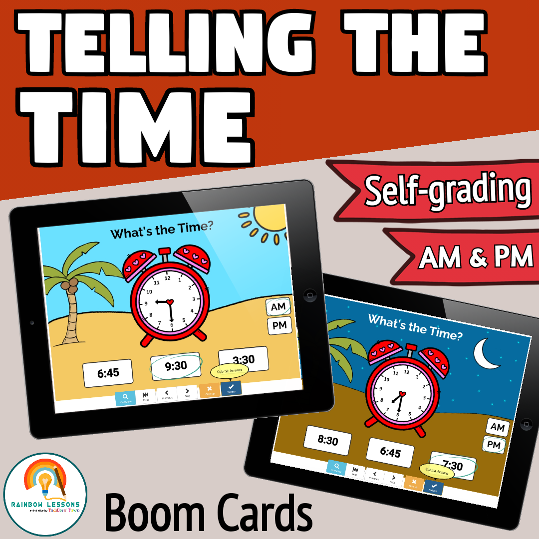 Telling the Time Boom Deck