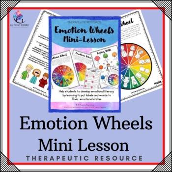 Emotion Wheels Mini Lessons Printable