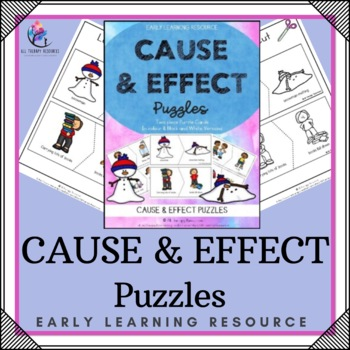 Cause and Effect Puzzles Printable