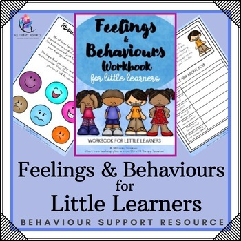 Feeling and behavior workbook printalbe