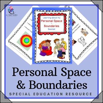 Personal Space and Boundaries Printable Resource