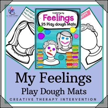 Emotions Play Dough Mats Printable