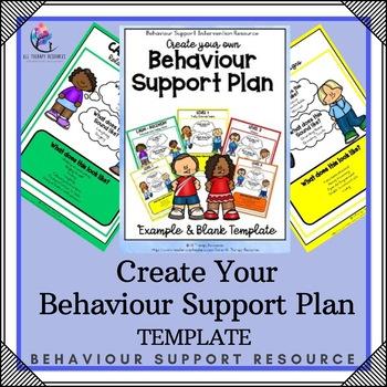 Printable Behavior Support Plan