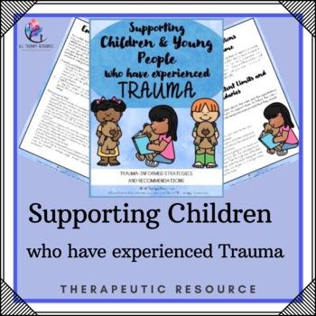Trauma Worksheets for Children
