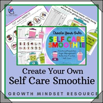Self Care Smoothie Printable