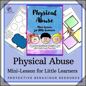 Physical Abuse Child Safety Printable Lessons