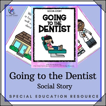 Visiting Dentist Story for Autism Printable Lessons