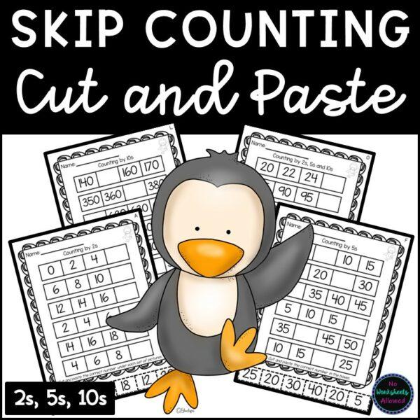 Skip Counting Printable Worksheets
