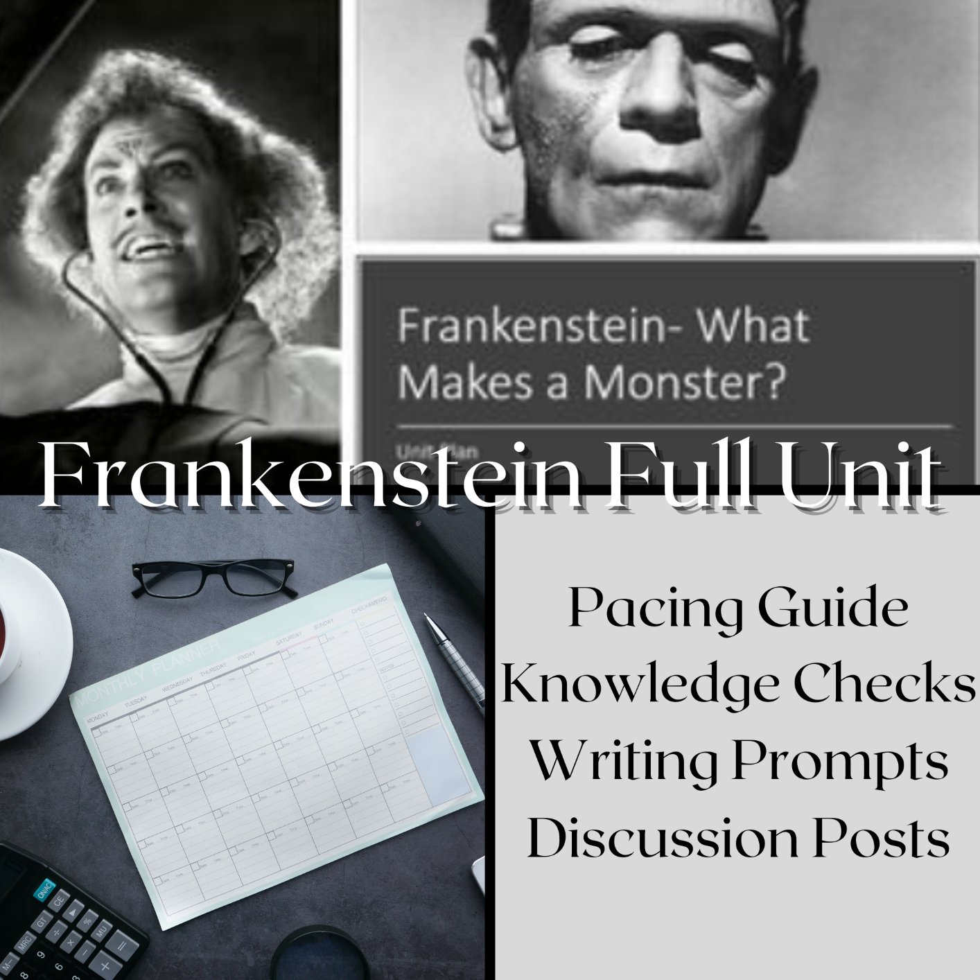 Frankenstein Printable Unit