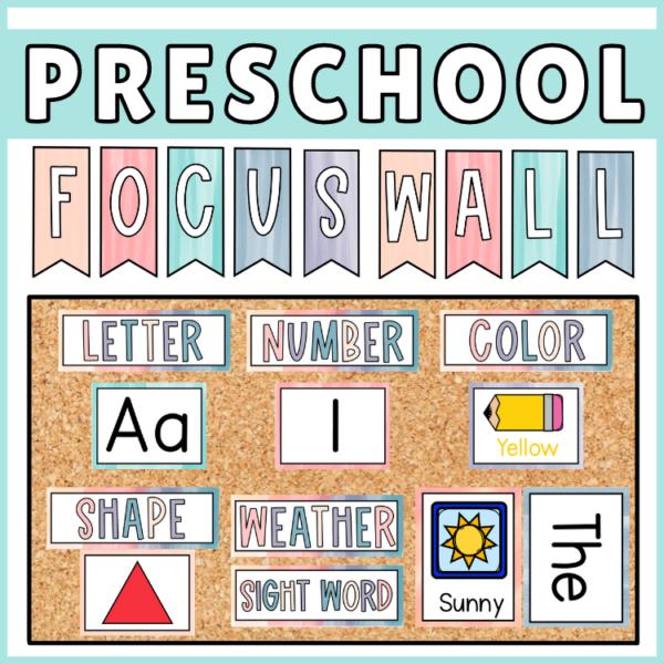 Focus Wall Preschool