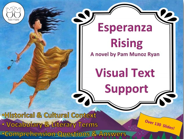 Esperanza Rising Visual Novel Study