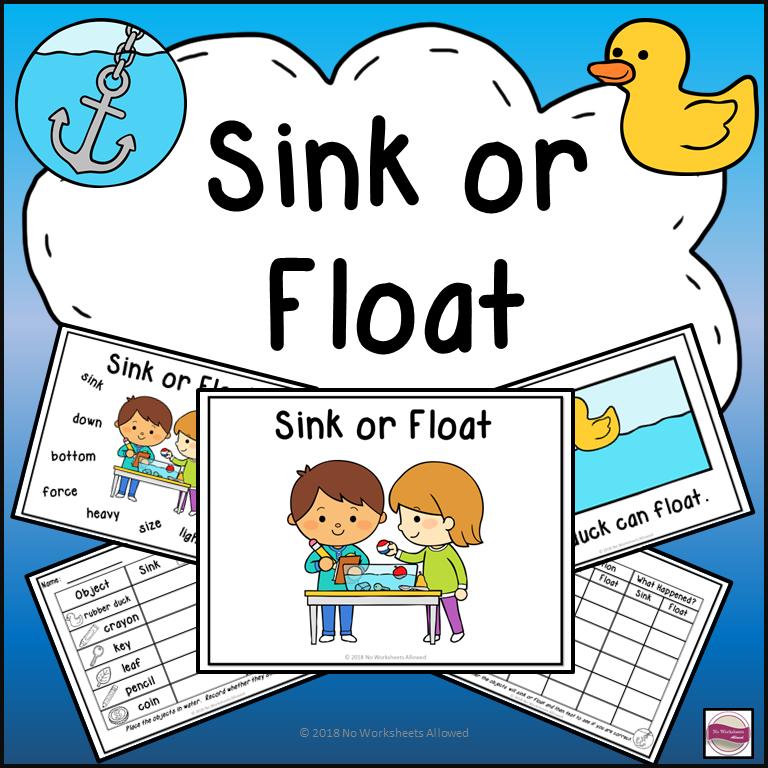 Sink or Float Experiments, Emergent Reader & More