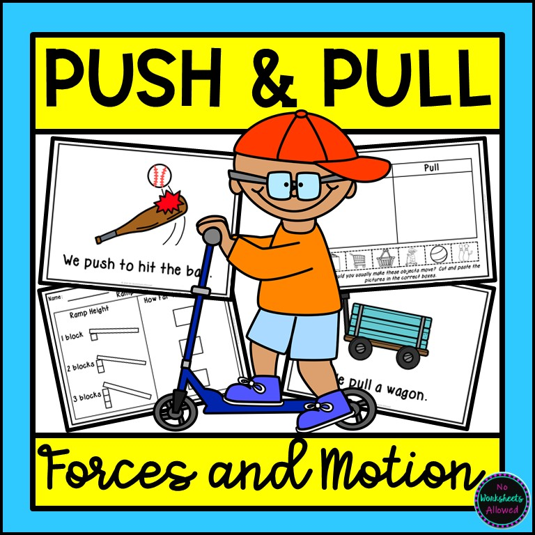 Force and Motions Worksheets