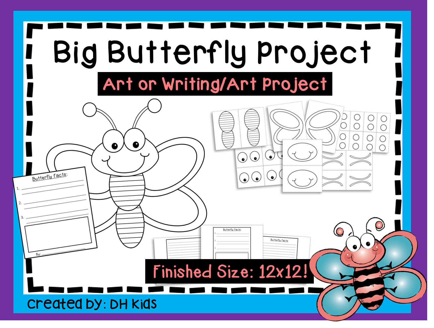 Butterfly Printable Craft and Writing Projects