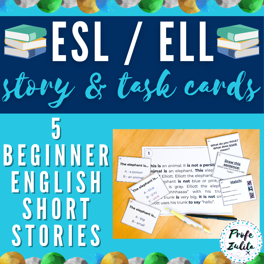 Printable Beginner ESL ELL Short Stories