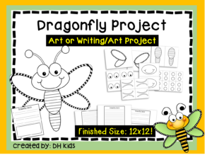 Printable Dragonfly Craft Project
