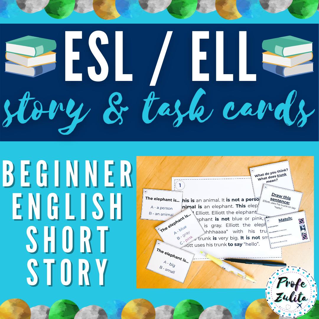 Printable Beginning English Short Stories