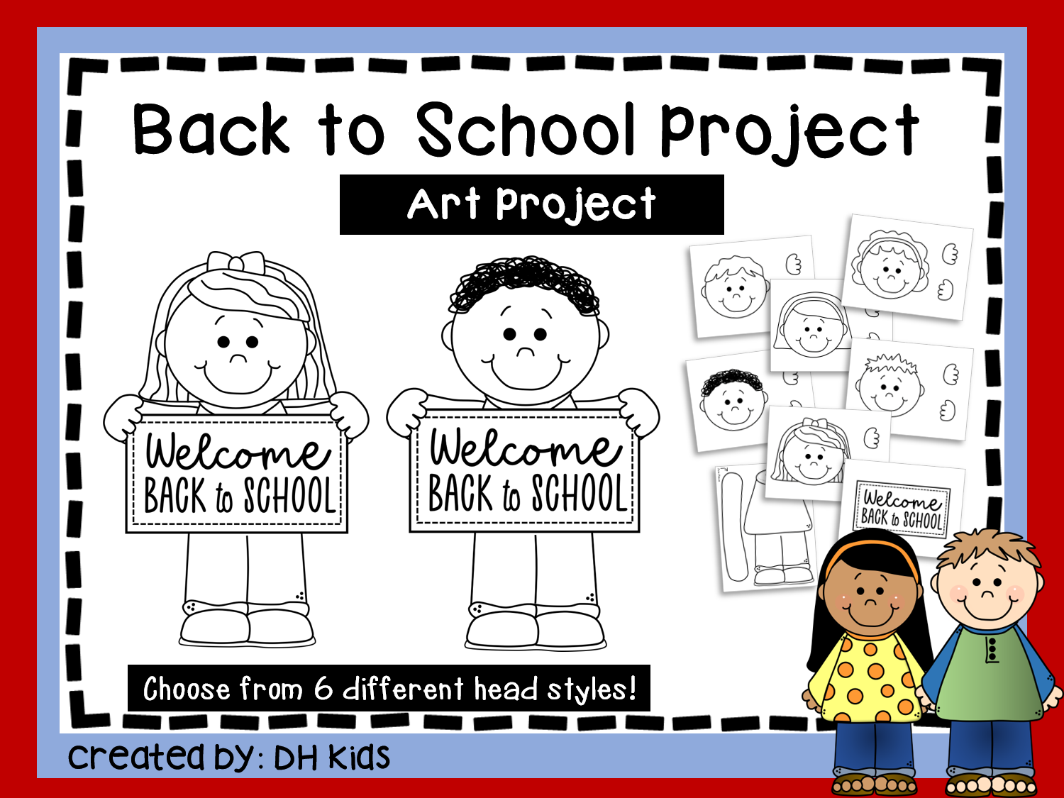 Printable Back to School Project