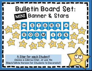 Printable Star Bulletin Board