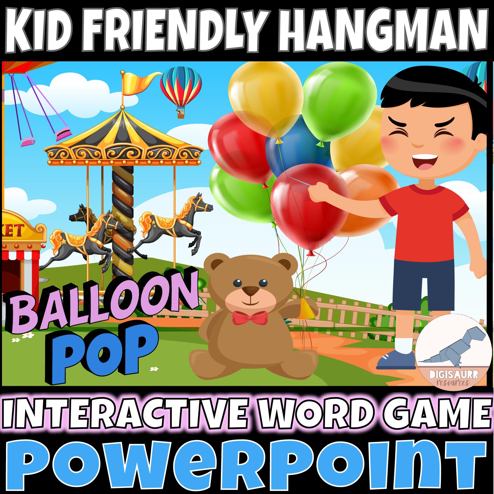Powerpoint Hangman for Kids
