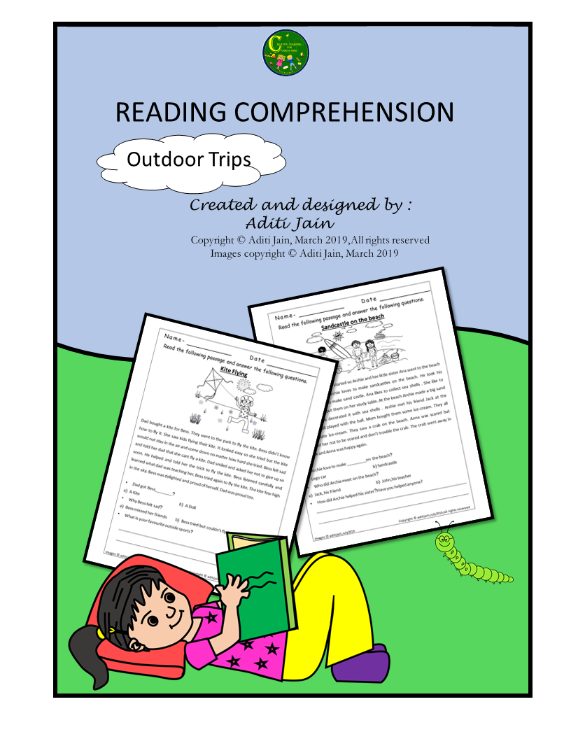 Reading Comprehension Printable Worksheets - Outdoor Activities Theme