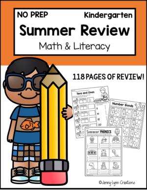 Kindergarten Review Worksheets Printable