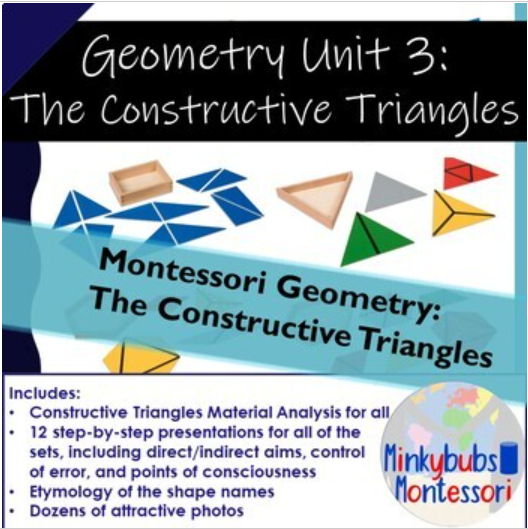 Montessori Geometry Printable PDF