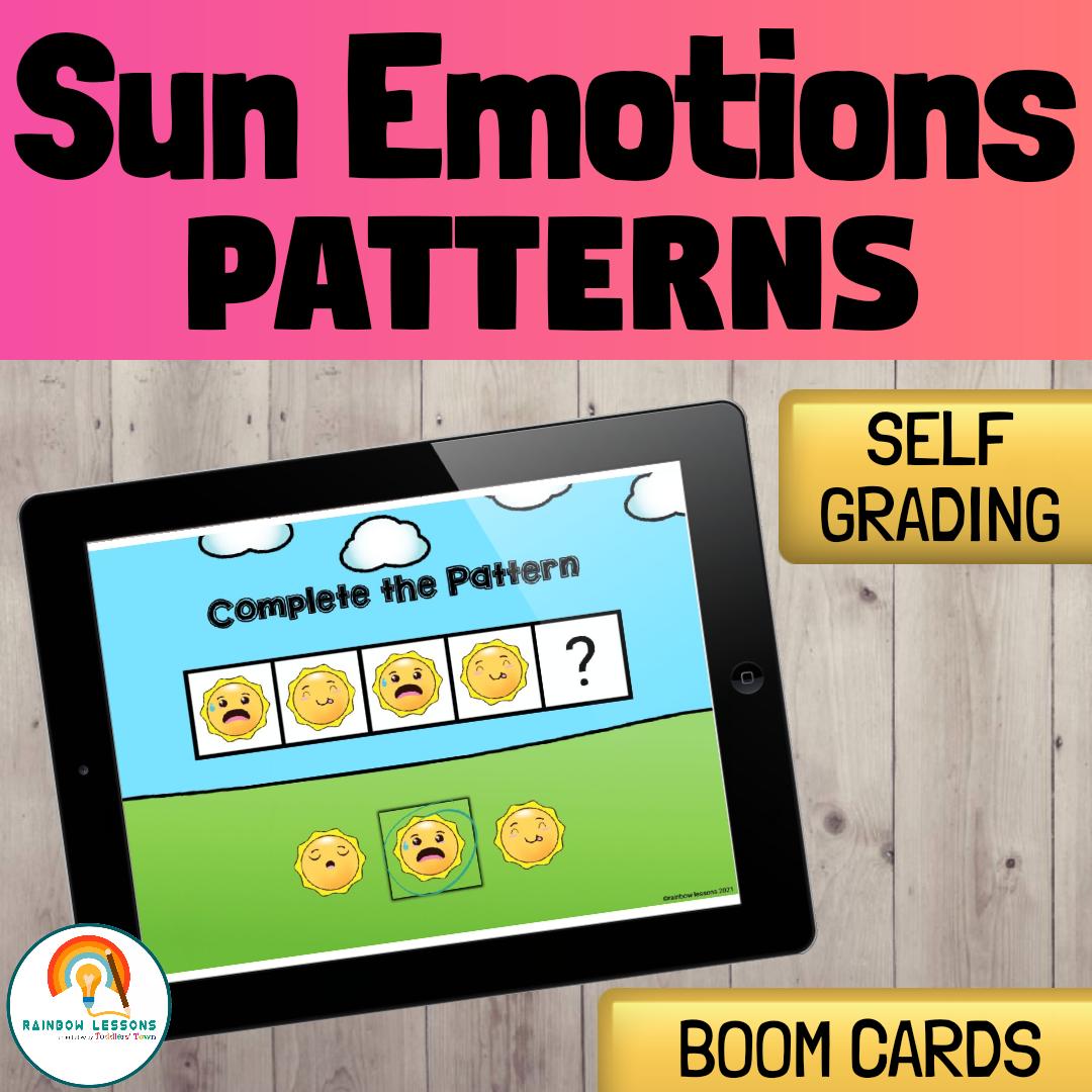 Summer Patterns | Sun Emotions Patterns Game