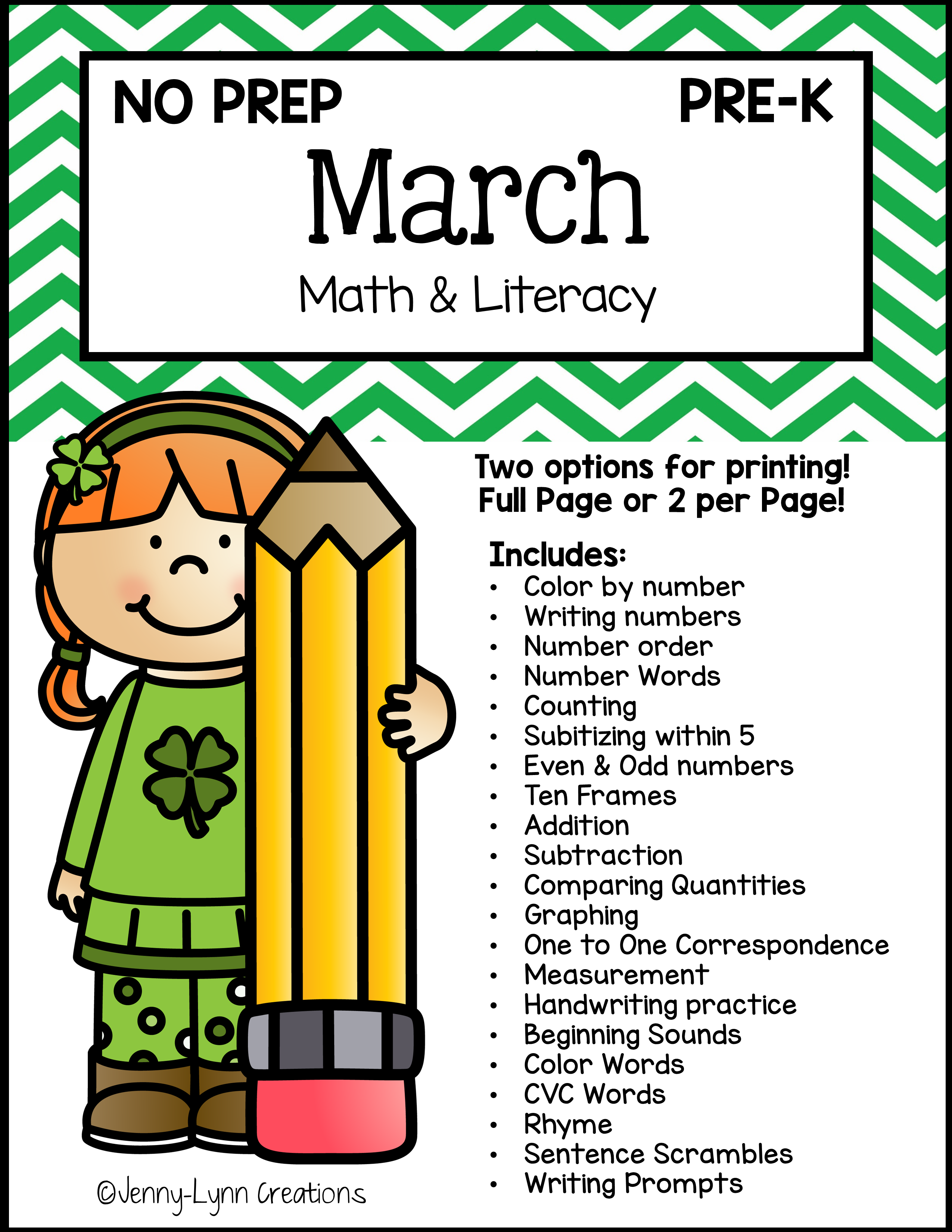 Downloadable Math and Literacy Teaching Resources