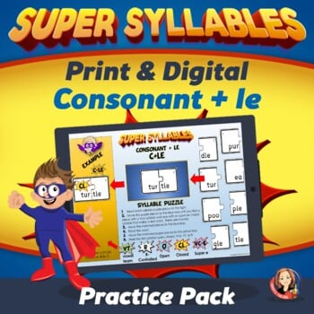 Printable Syllable Learning Activities