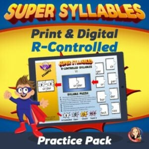 Learning the Six Syllable Types R Controlled
