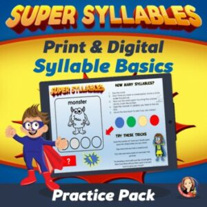 Learning the 6 Syllable Types Counting Syllables