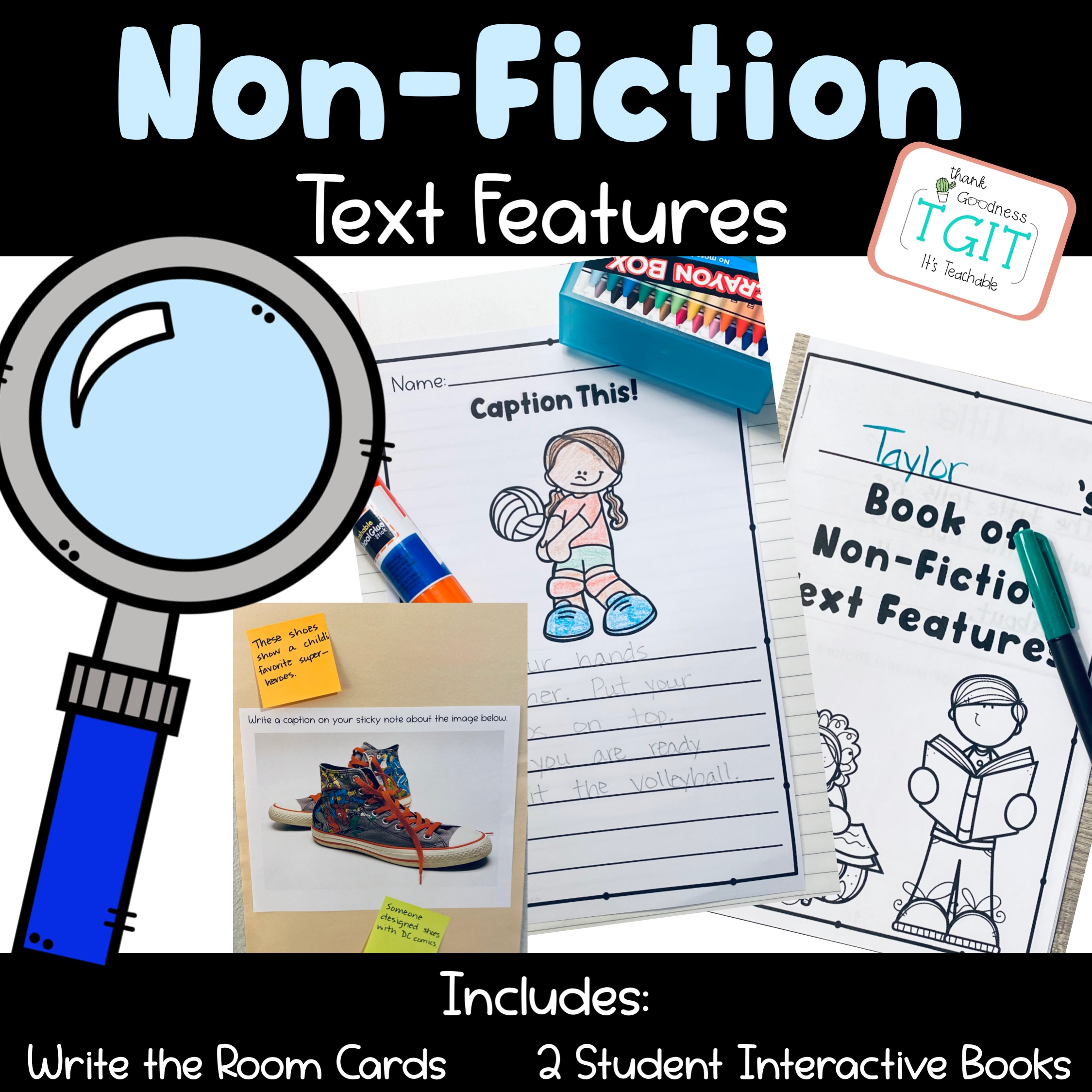 Printable Activity for Non-Fiction Text Features