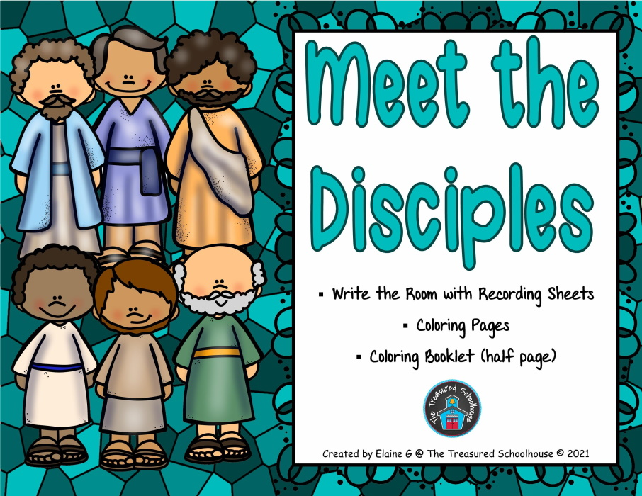 Meet the Disciples Printable Worksheets