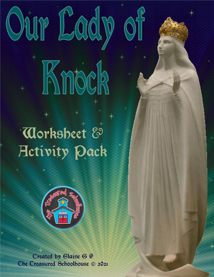 Our Lady of Knock Worksheet and Activity Pack