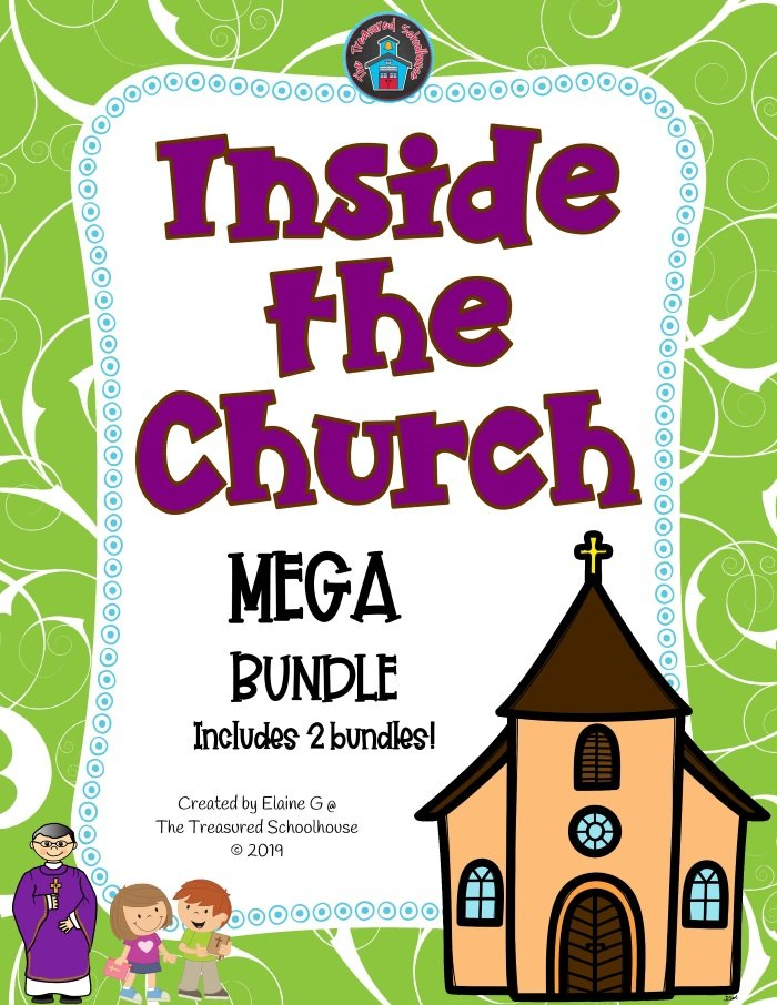 Inside the Church Printable Worksheets and Activities