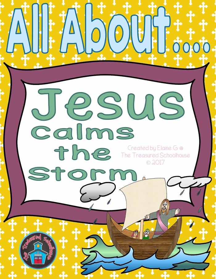 Jesus Calms the Storm Printable Worksheets