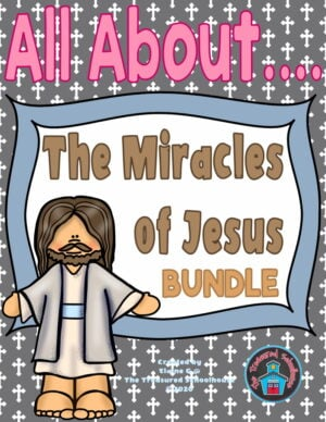 Youth Bible Study Printable Worksheets - The Miracles of Jesus