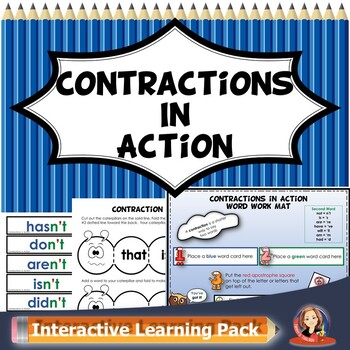 Contractions Printable Worksheets